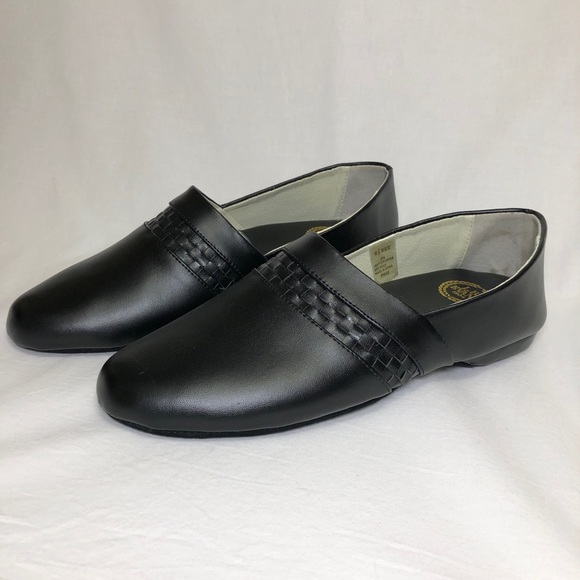 🔵 L.B. Evans Leather Opera Slippers